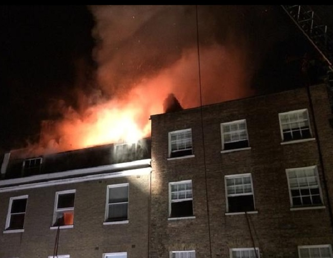 Marylebone fire