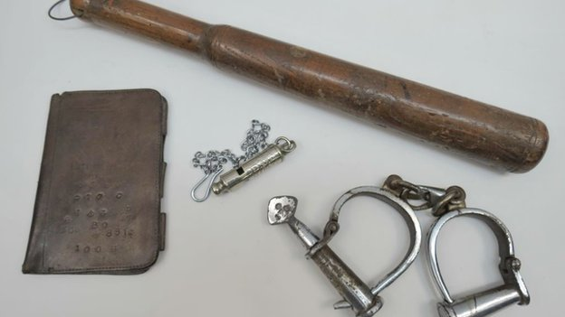 Items belonging to PC Watkins, who discovered the body of Jack the Ripper victim Catherine Eddowes are on sale at an auction
