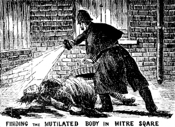 A victim of Jack the Ripper is discovered in Whitechapel