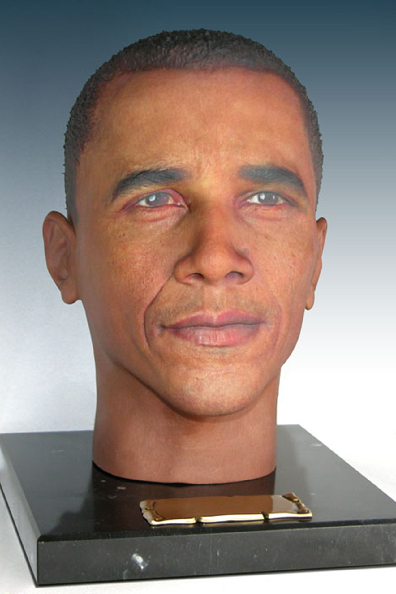 Creation Solutions' Obama urn. (Cremation Solutions)