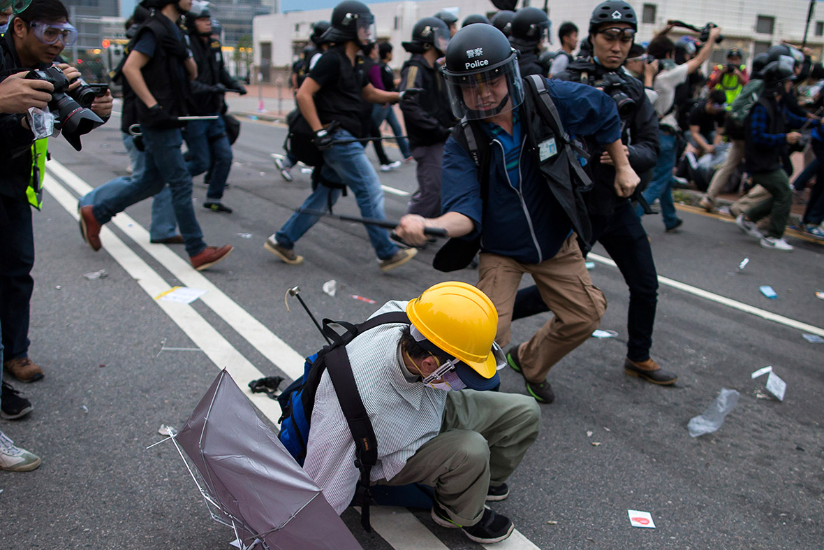 hong kong democracy protests