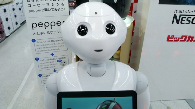 Humanoid robot lands job as Japan Nestle's latest salesman