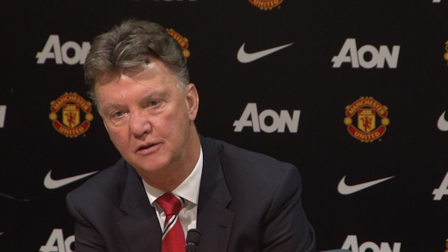 Louis van Gaal confirms Di Maria out of Stoke Clash