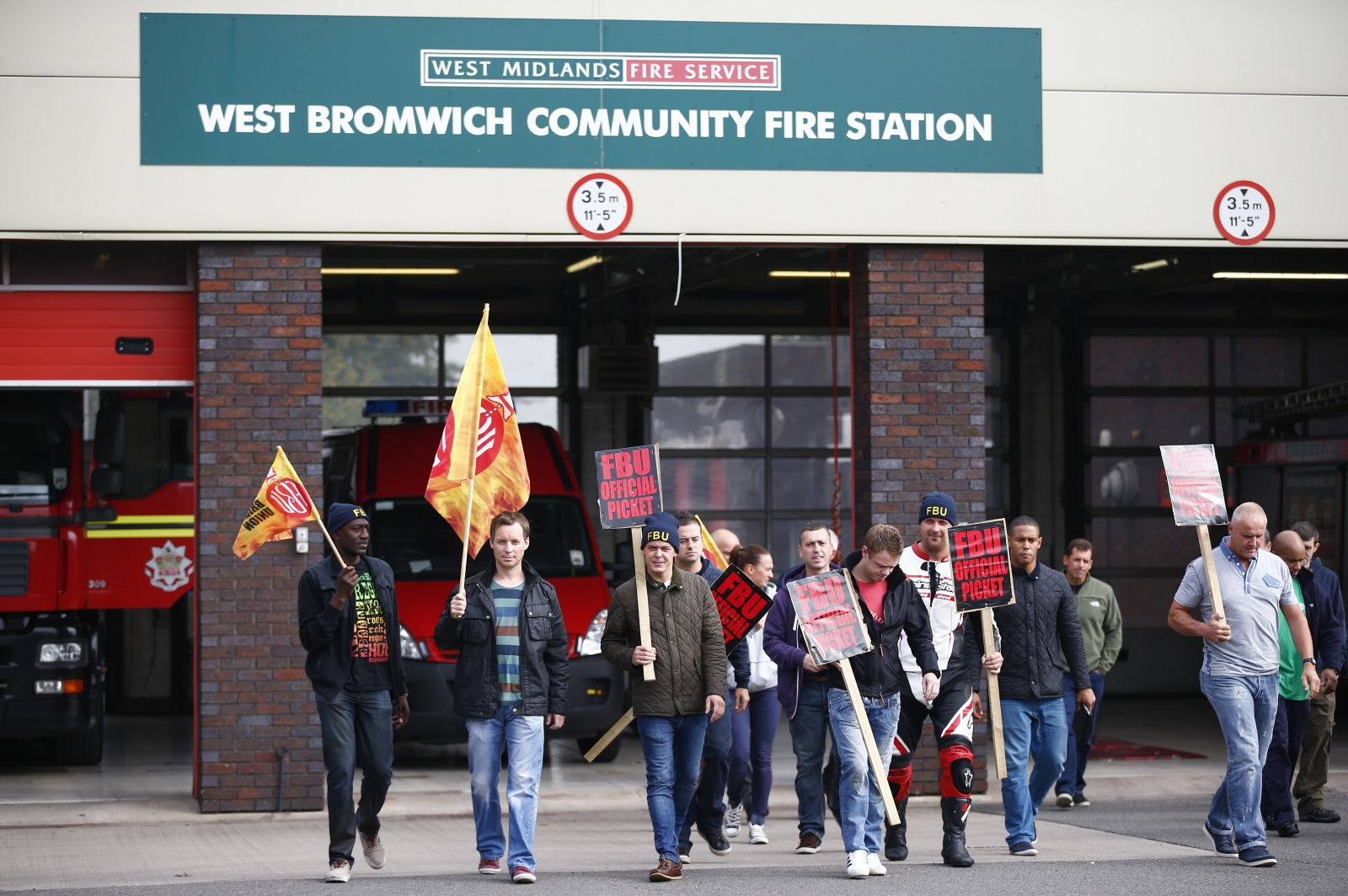FBU strike