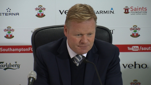 Koeman says Saints simply 'weren't good enough' to beat City