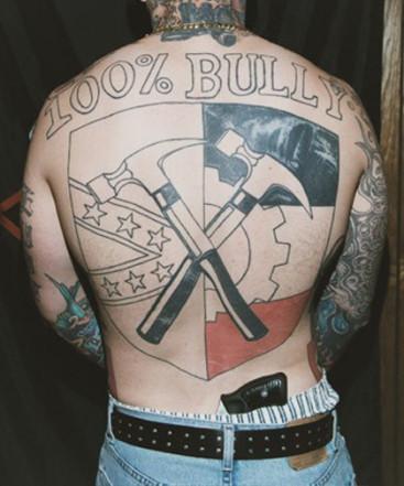 Hammerskin nation tatooo