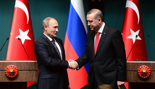 Turkey's Erdogan says Russia has suffered from terrorism, will together fight Isis