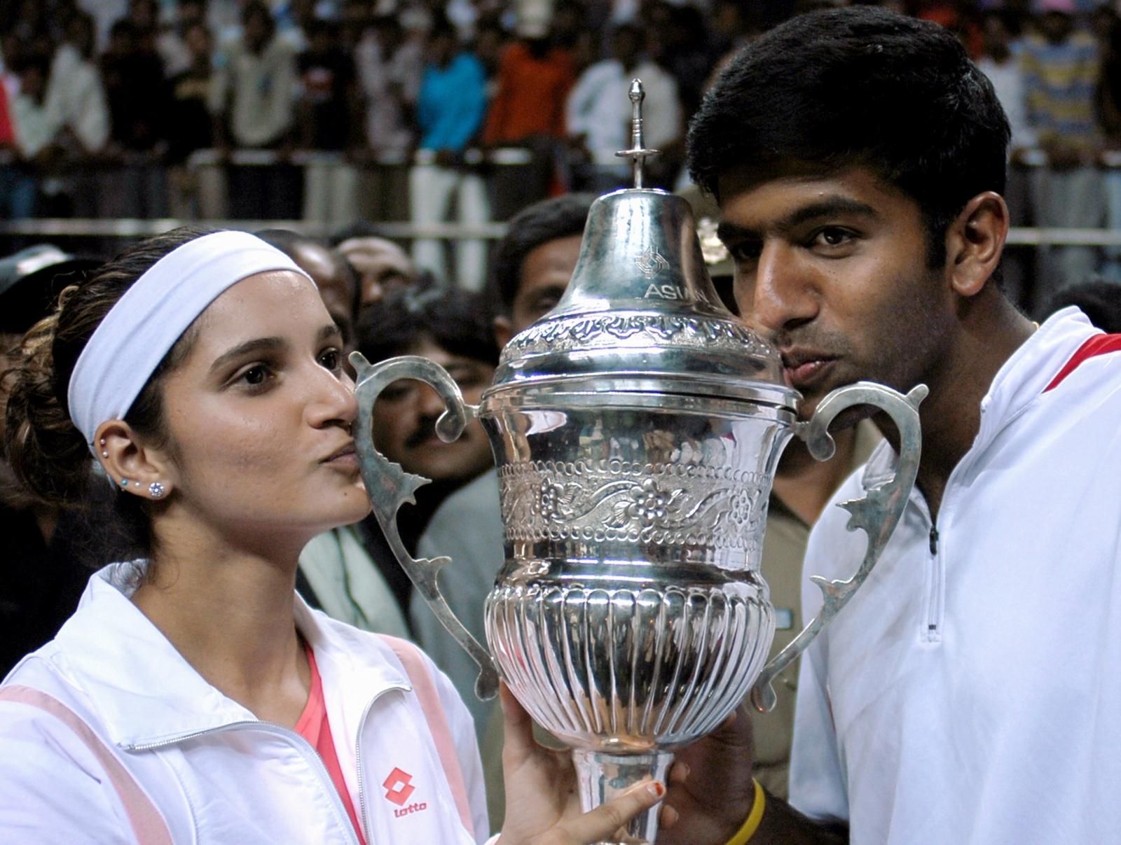 Rohan Bopanna and Sania Mirza