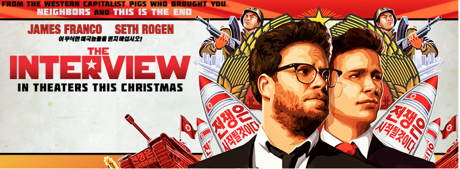 The Interview Film Led to North Korea Hacking Sony Pictures