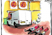 Ukip accused of pinching telegraph cartoonist\'s image for Christmas card