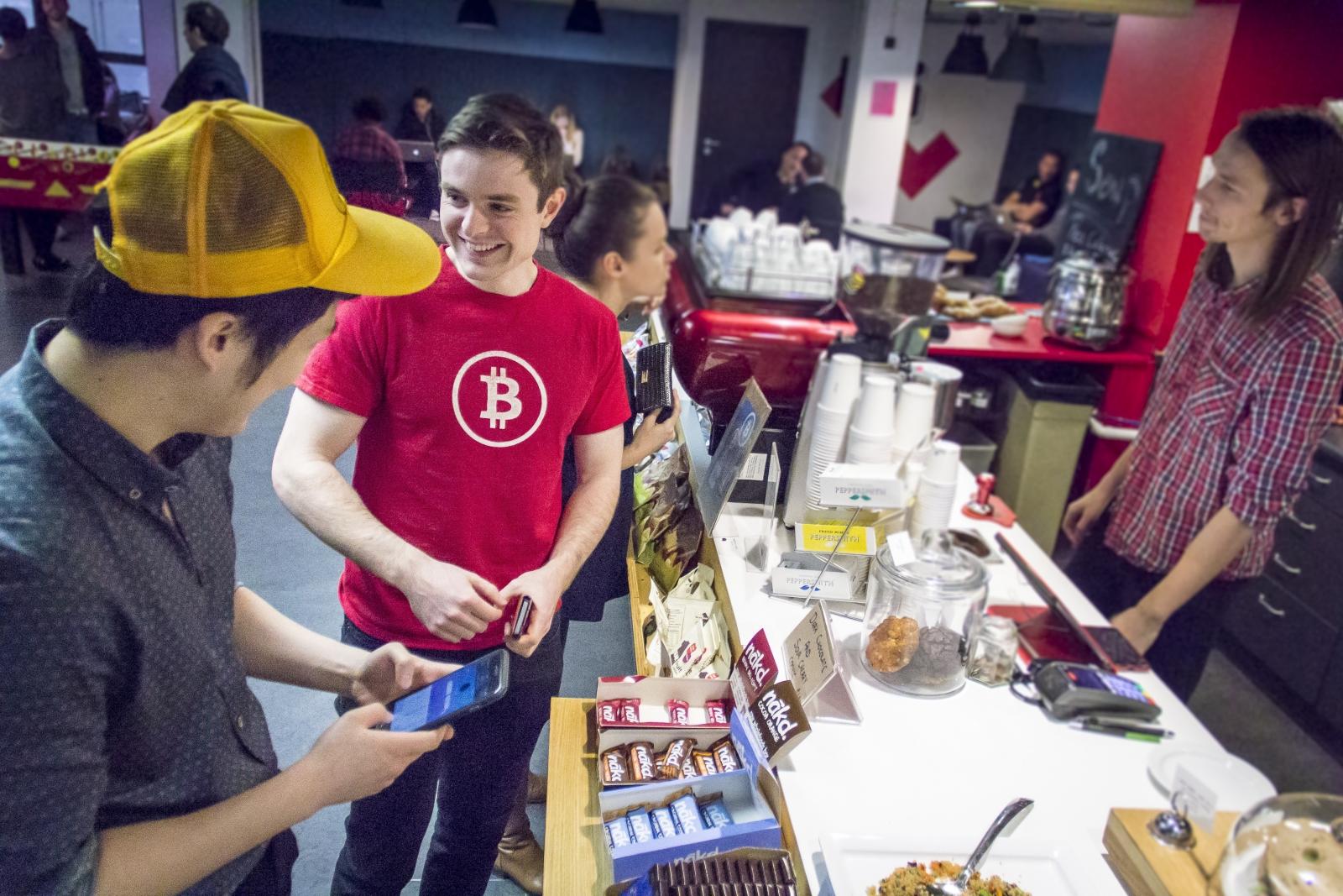 living on bitcoin london