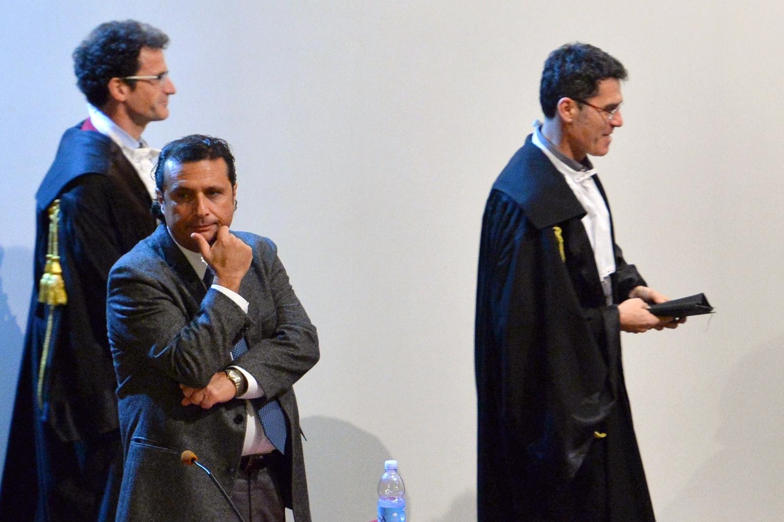 Francesco Schettino Costa Concordia Trial