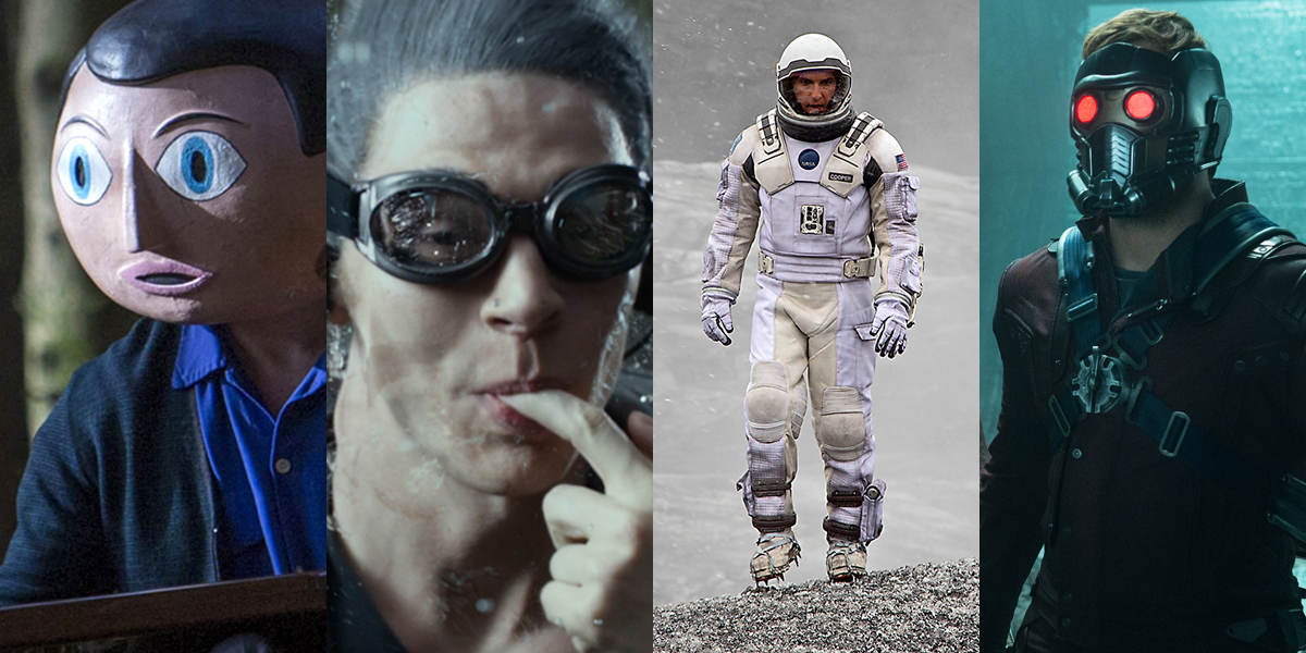 Movie Moments 2014 Frank X-Men Interstellar Guardians