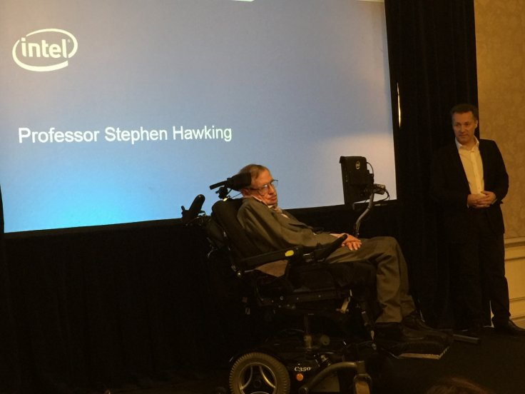 Professor Stephen Hawking Launches New Speech System with Intel