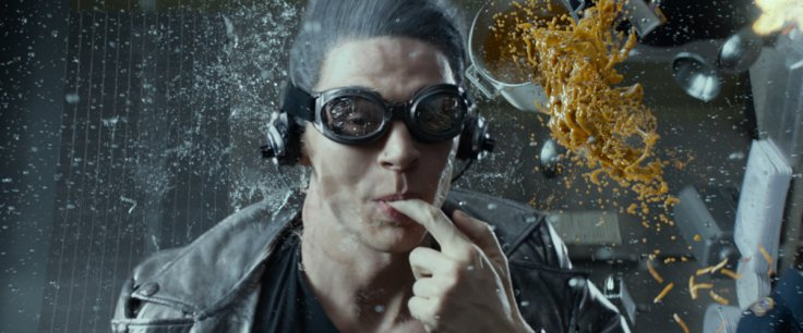 X-Men Days of Future Past Quicksilver Scene