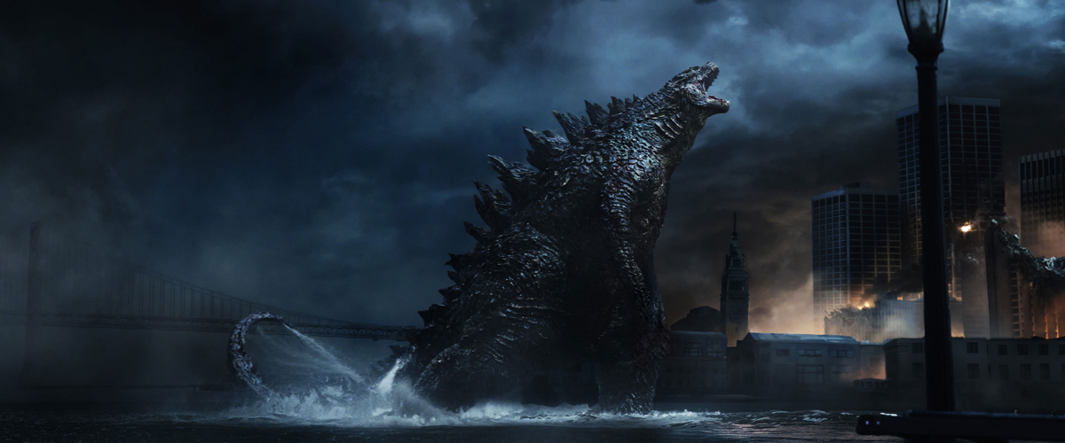 Godzilla Atomic Breath Scene