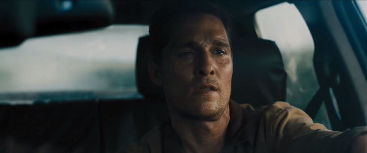 Interstellar Matthew McConaughey Driving