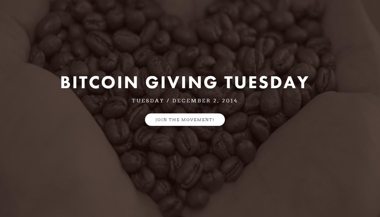 bitcoin giving tuesday