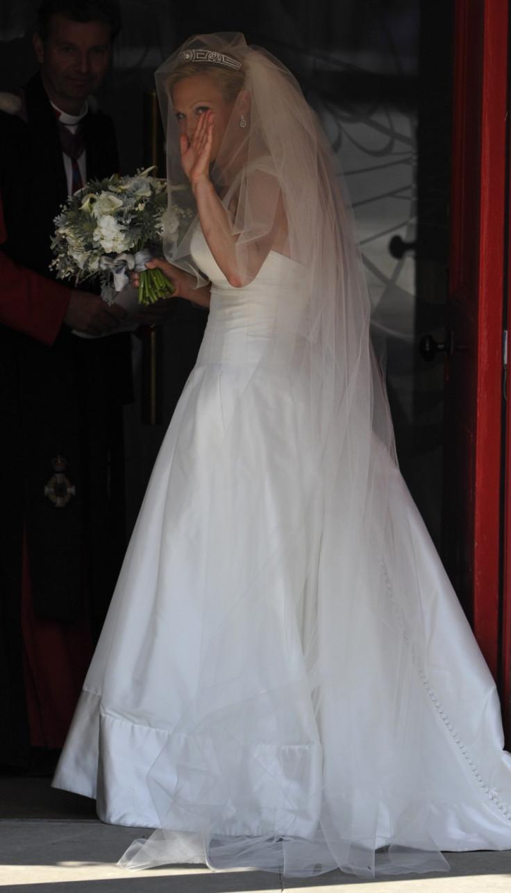 Zara Phillips Very Merry Royal Wedding