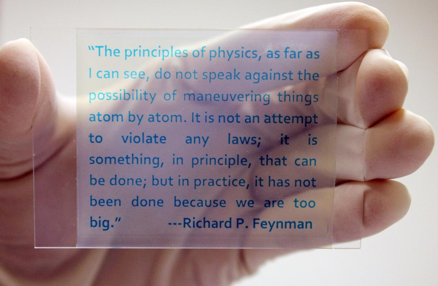 Scientists have created rewritable paper made from redox dyes and a plastic or glass film
