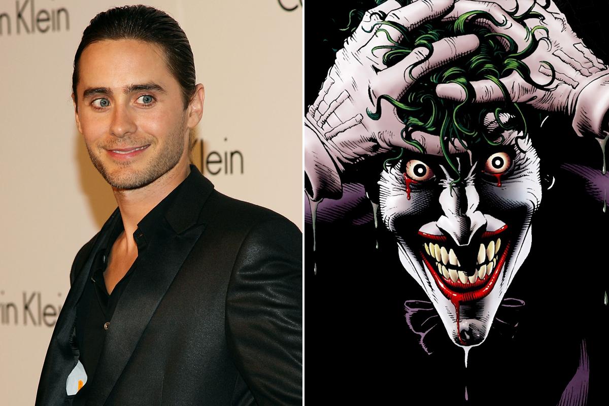 Jared Leto Joker Suicide Squad