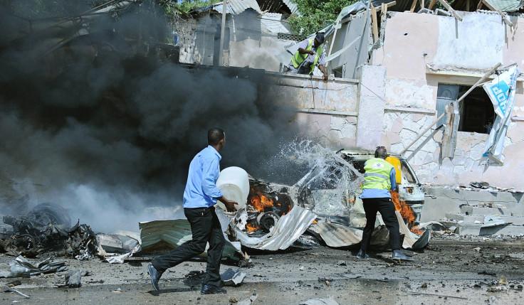 Blast in Somalia's Mogadishu airport