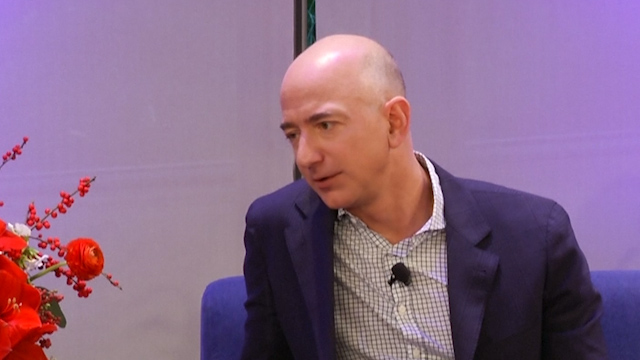 Amazon's Bezos says FAA regulations could mean delays in drone deliveries