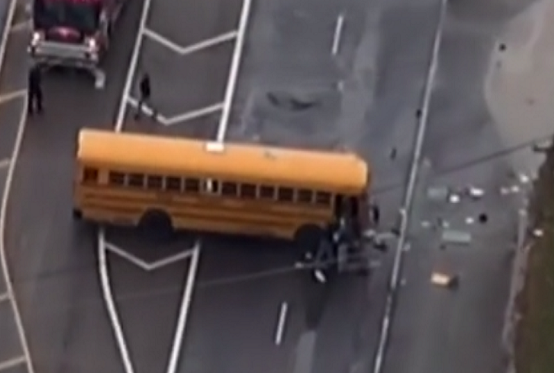 School bus crash in Tennessee kills two children from Sunnyview Primary School