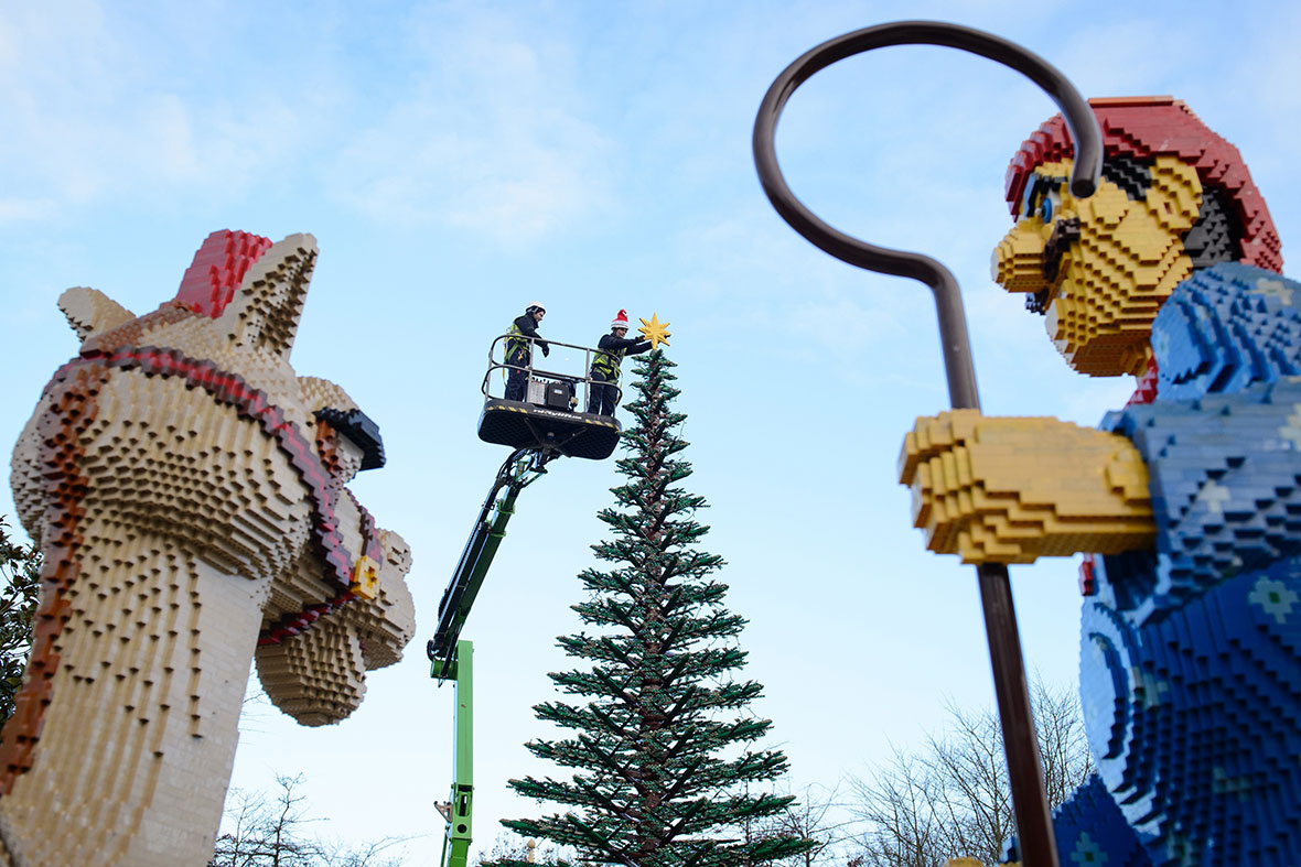 Legoland Christmas tree