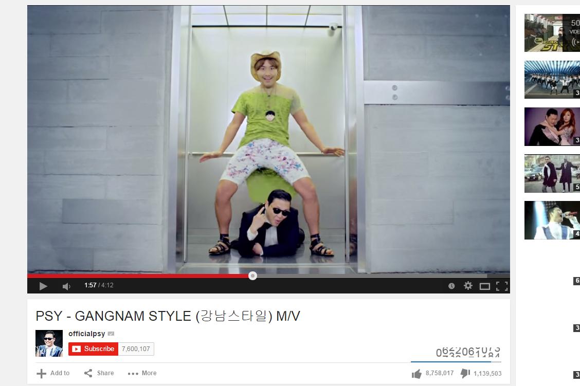 Gangnam style is communist
