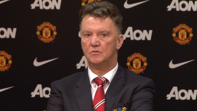 Louis van Gaal not happy with United's performance despite win