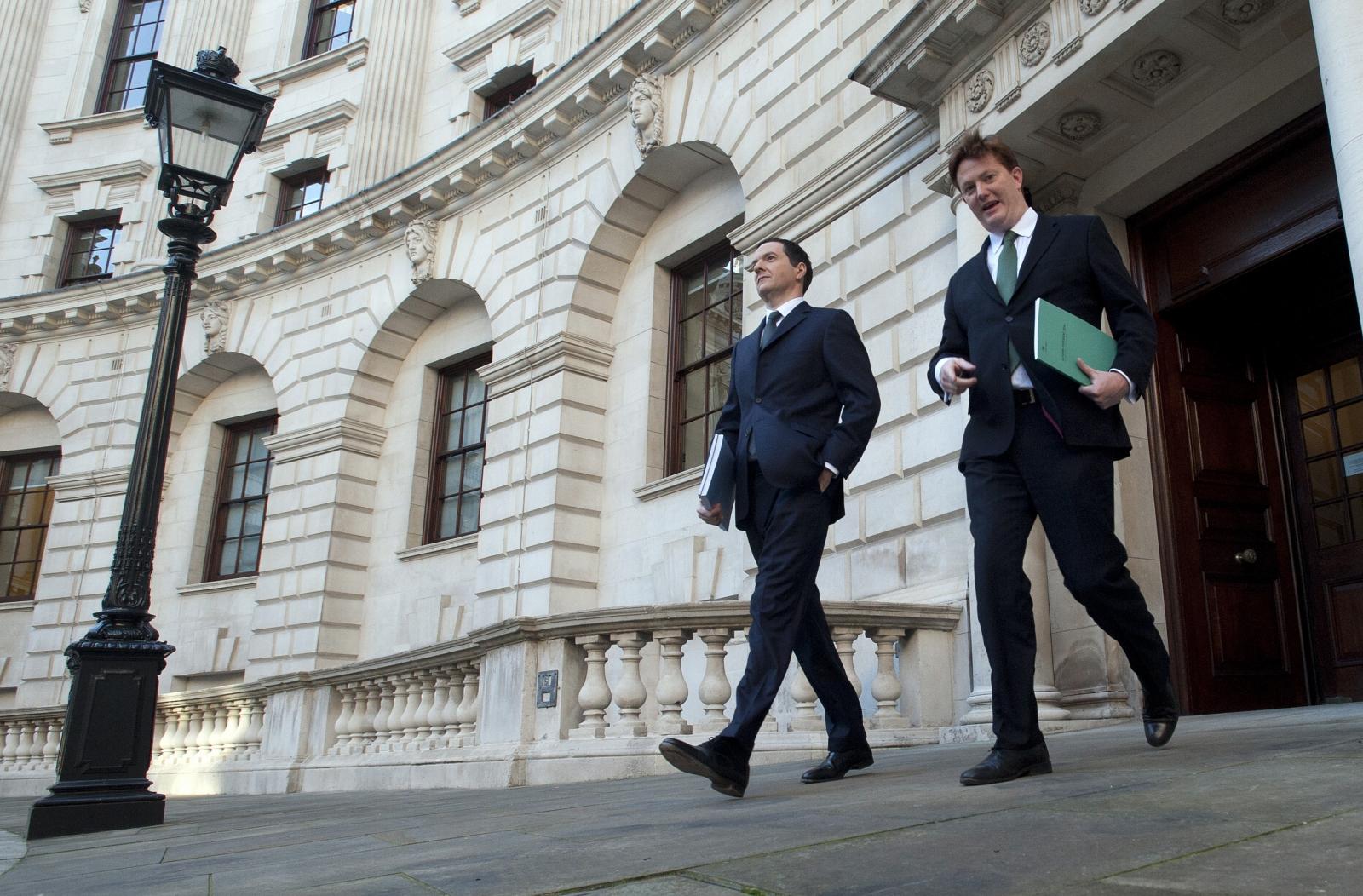 George Osborne and Danny Alexander