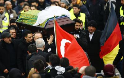 Tugce Albayrak Funerals McDonalds attack Germany