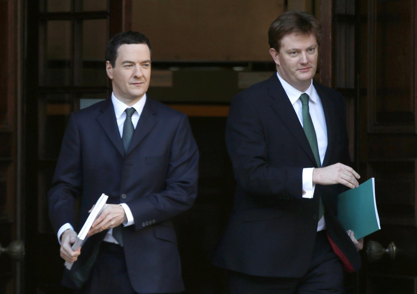George Osborne Danny Alexander