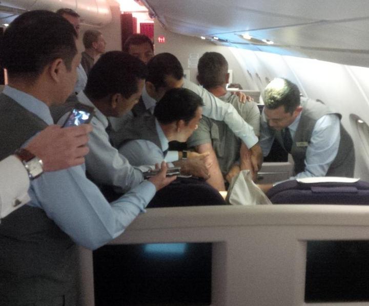 Boris Johnson involved in mid-air drama on flight from Kuala Lumpur