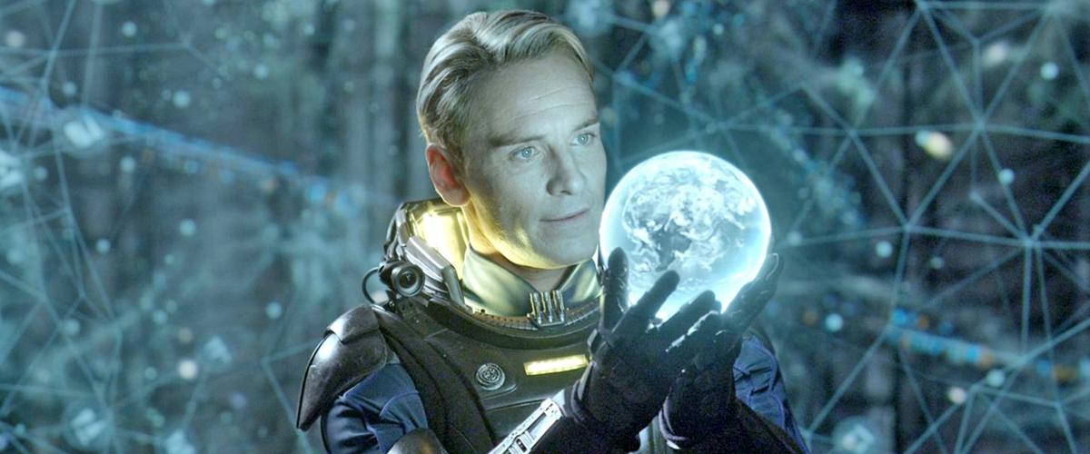Prometheus Michael Fassbender