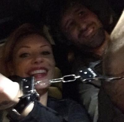 Italian Football Star De Rossi ex-Wife Tamara Pisnoli in Handcuff Selfie after Kidnapping Arrest