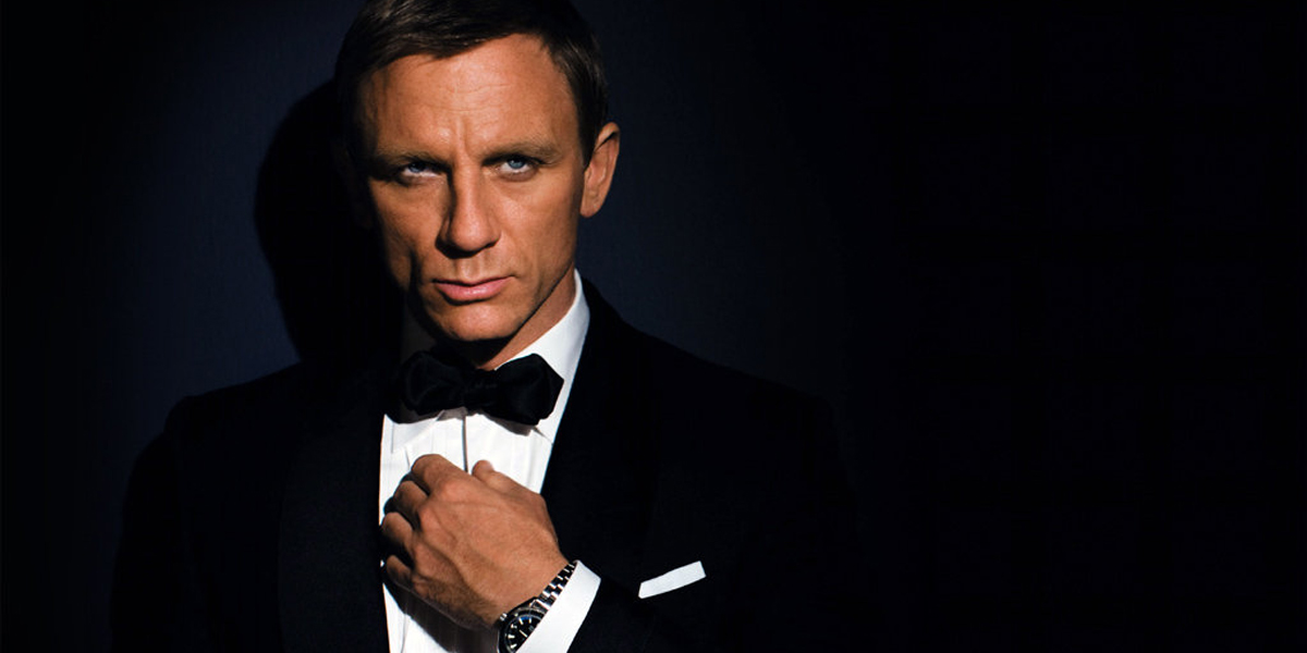 Bond James Bond Daniel Craig
