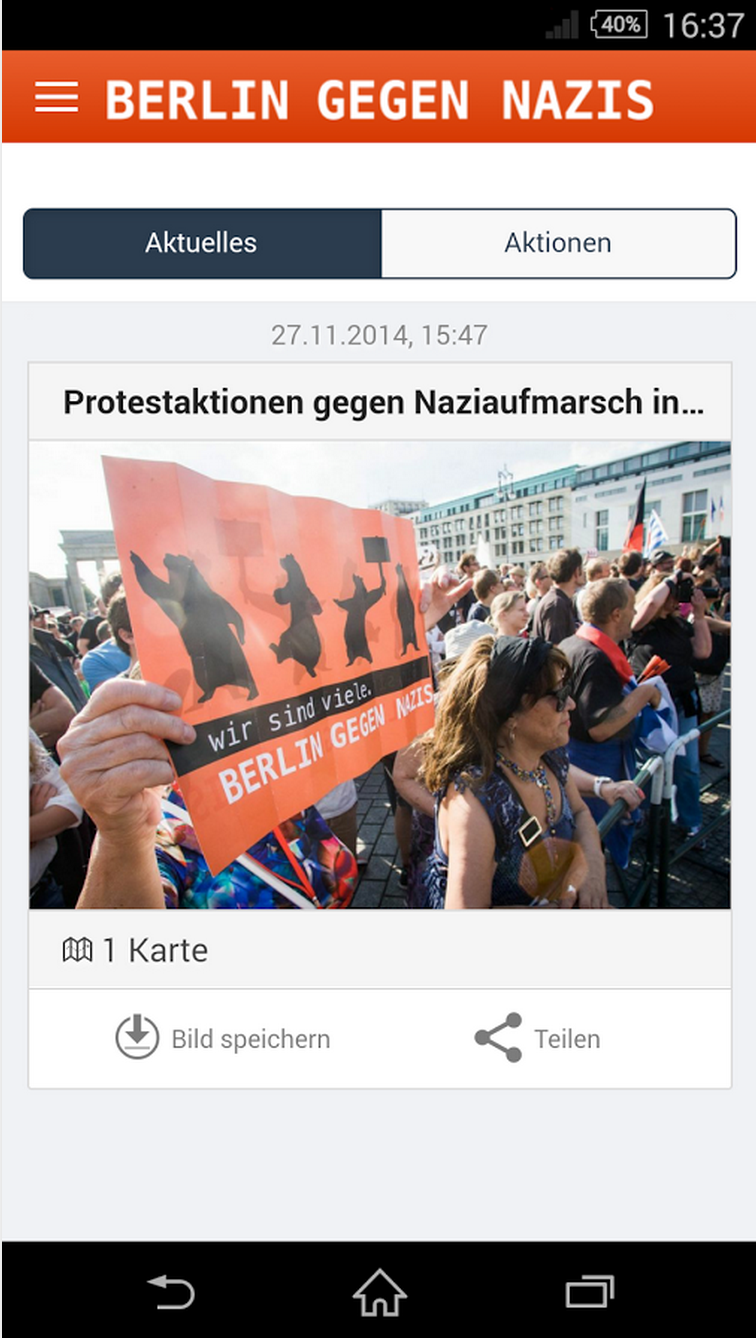 Anti-Nazi Smartphone App Launched in Germany