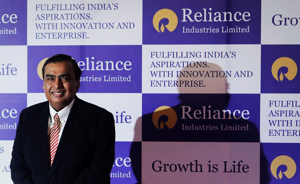 Mukesh Ambani Reliance Industries