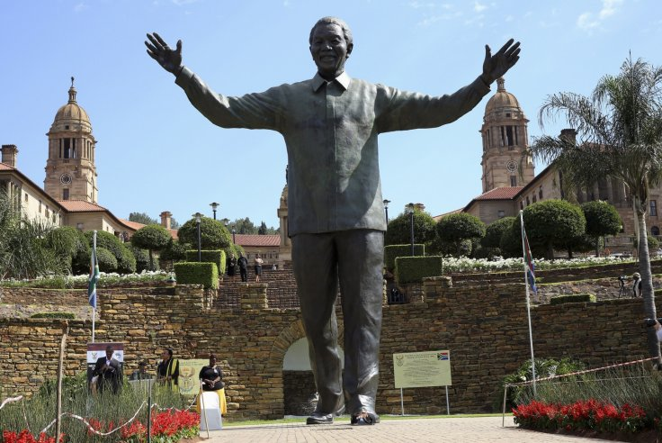 South African marks Nelson Mandela's first death anniversary