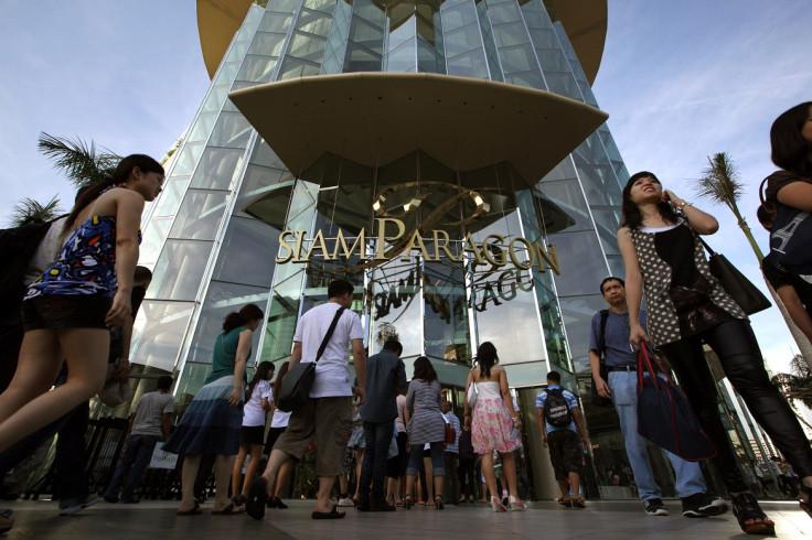 siam paragon bangkok mall