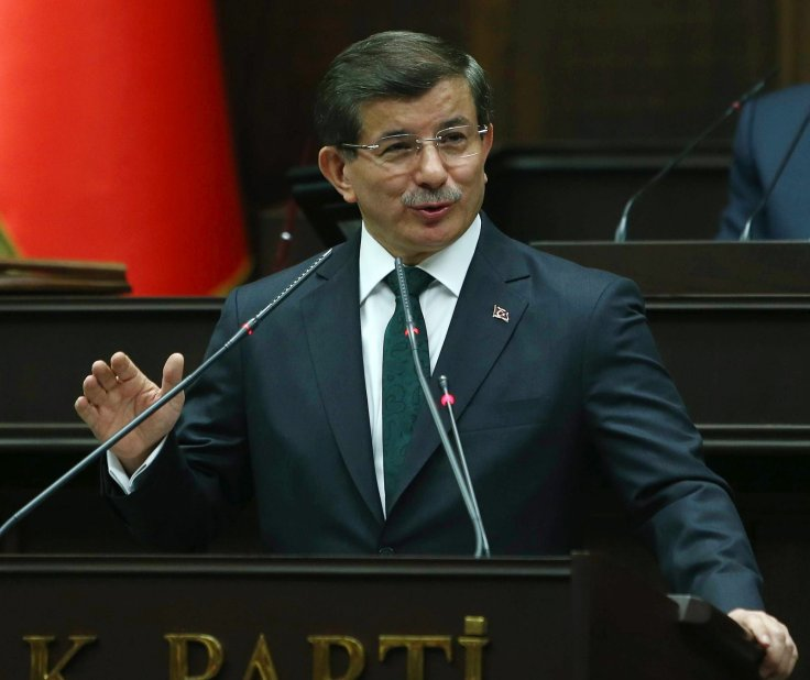 Turkey's Prime Minister Ahmet Davutoglu Sexist Women gender Equality Suicide Rate