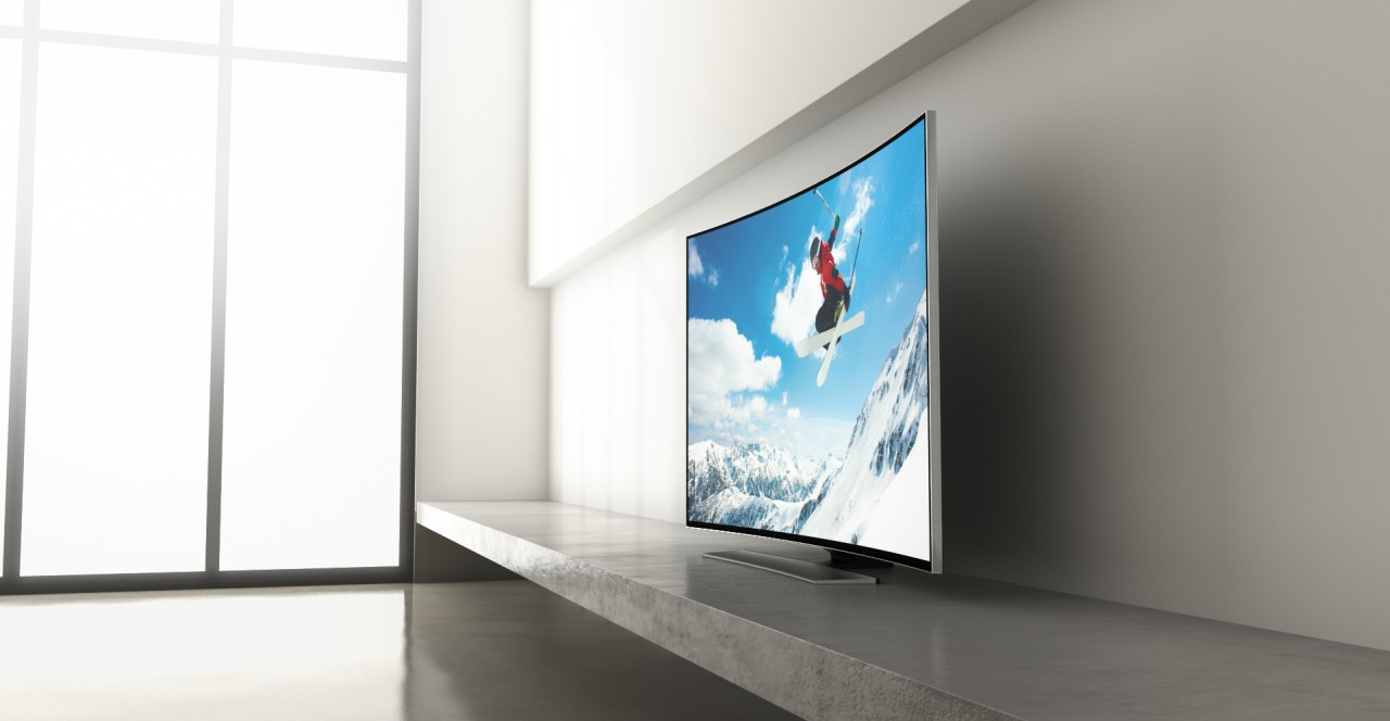 Samsung HU8500 Curved Smart 3D 4K TV