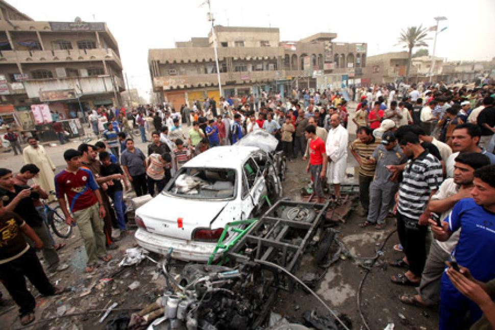 Two car bombs rock Baghdad's Sadr City