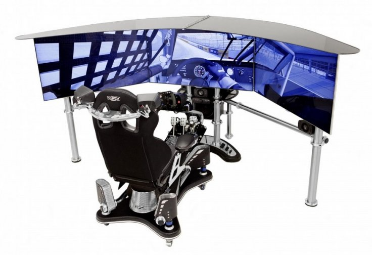 VRX D-Box race simulator