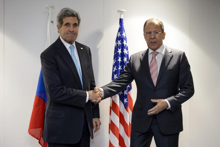 John Kerry Sergei Lavrov