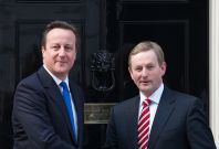 David Cameron and Enda Kenny (right) asked to \'clear diaries\' to solve Northern Ireland troubles
