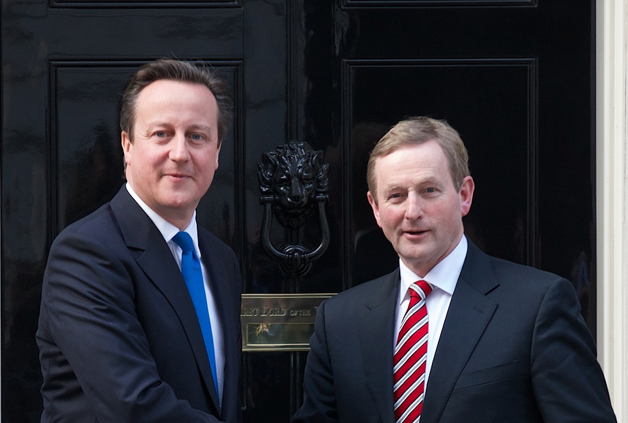 David Cameron and Enda Kenny (right) asked to 'clear diaries' to solve Northern Ireland troubles