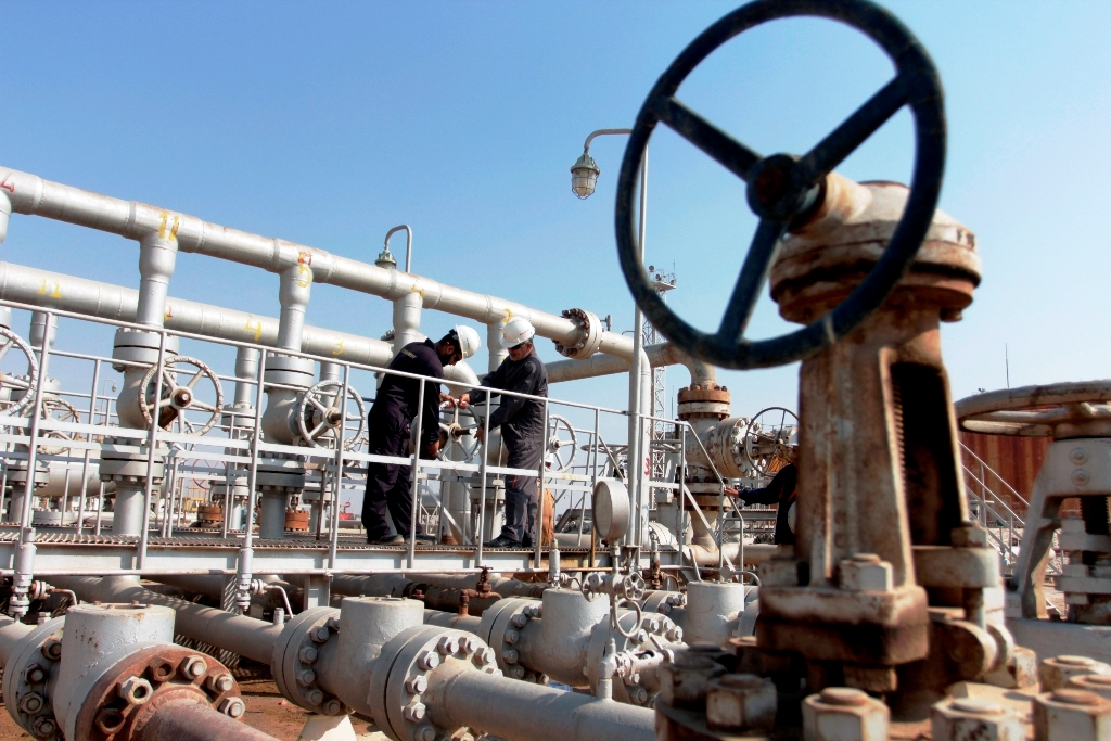 Iraqi Oilfield